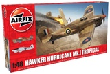 Airfix 1:48 Hawker Hurricane Mk.I-Tropical - Model Kit
