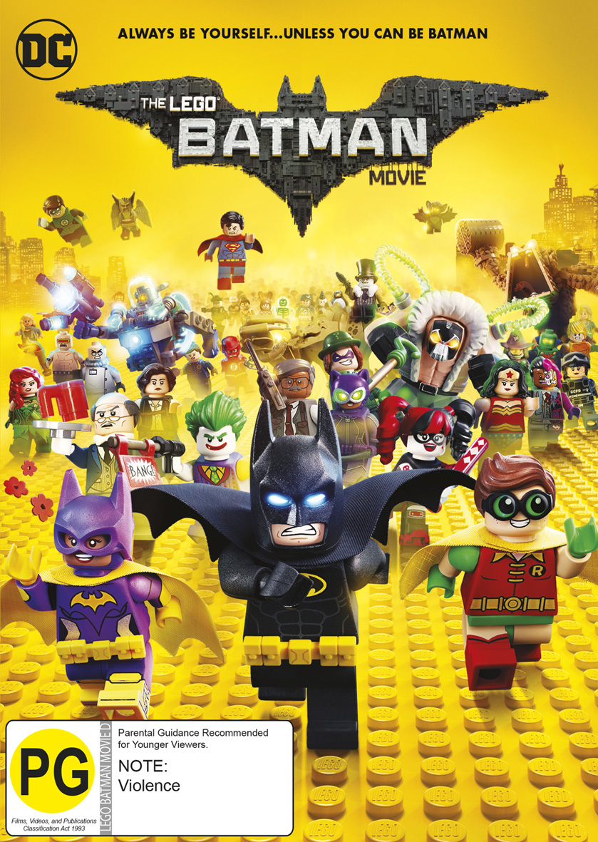 The Lego Batman Movie on DVD image