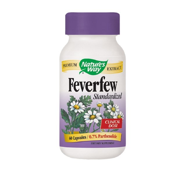 Nature's Way Feverfew Herb (60 Caps) image