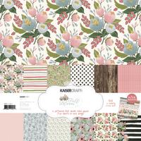 Kaisercraft: Paper Pack with Bonus Sticker Sheet - Full Bloom