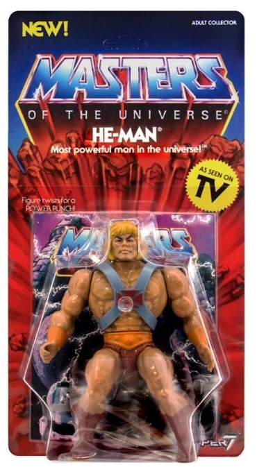 """Masters of the Universe: He-Man - 5.5"""" Vintage Figure"""