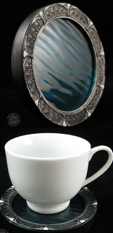 Stargate SGU Replica Coasters - Set of 4 image