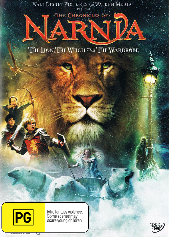 Chronicles of Narnia: The Lion, The Witch and The Wardrobe (1 Disc) on DVD
