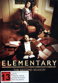 Elementary - The Complete Second Season on DVD