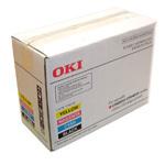 Oki C5100/52/53/5400 Toner RainBow Pack 1 ea CMYB