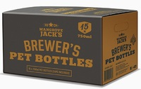 Mangrove Jack's: Brewers Bottles - Plastic PET(15 x 750ml)