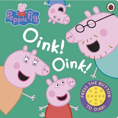 Peppa Pig: Oink! Oink! (Sound Book) image