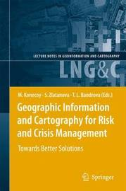 Geographic Information and Cartography for Risk and Crisis Management image