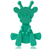 Little Bam Bam Silcone Teether - Turquoise
