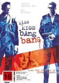 Kiss Kiss Bang Bang on DVD image