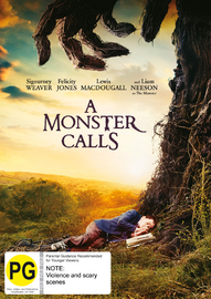 A Monster Calls on DVD
