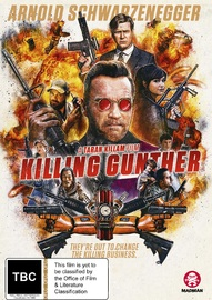 Killing Gunther on DVD image