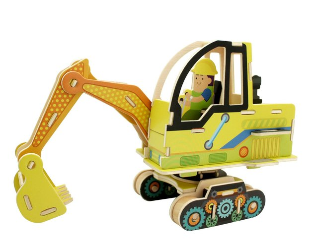 Robotime: Excavator Construction Vehicle