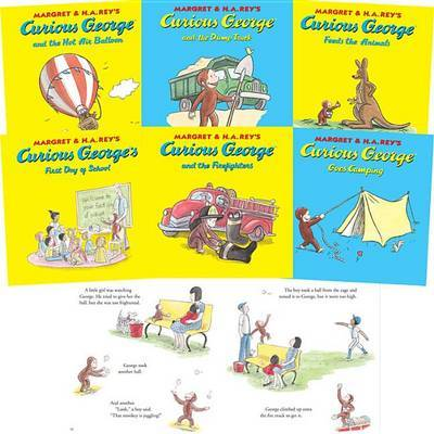 Curious George - 10 Titles by Margret Rey