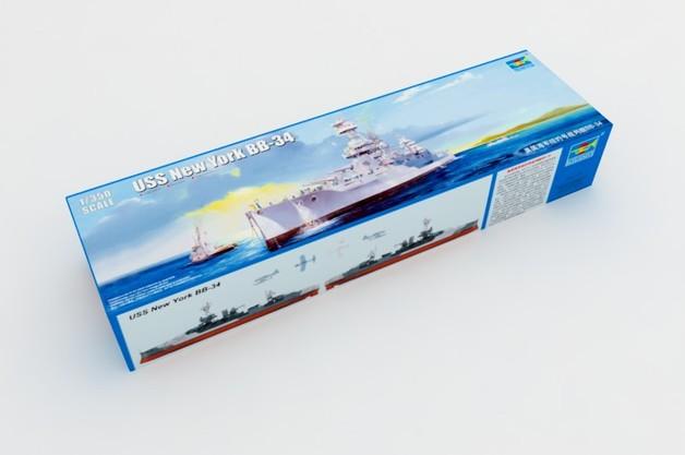 Trumpeter 1/350 USS New York BB-34 - Scale Model