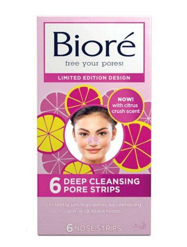 Biore: Citrus Crush Deep Cleansing Pore Strips (6 Pack)