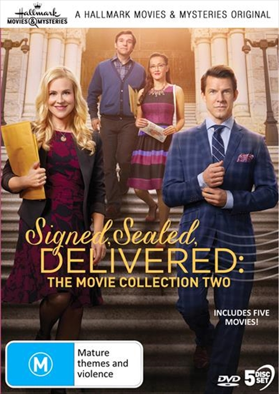 Signed, Sealed & Delivered: The Movie Collection 2 on DVD