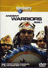Ancient Warriors Vol 3 on DVD