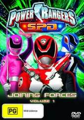Power Rangers SPD - Vol. 1: Joining Forces on DVD