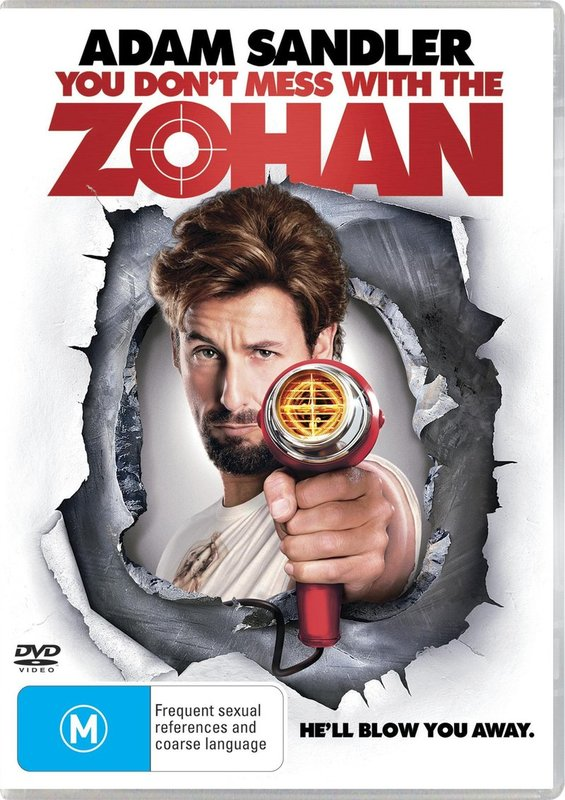 You Don't Mess With The Zohan on DVD