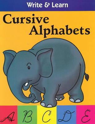 Cursive Alphabets by Pegasus