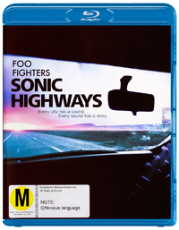 Foo Fighters - Sonic Highways on Blu-ray
