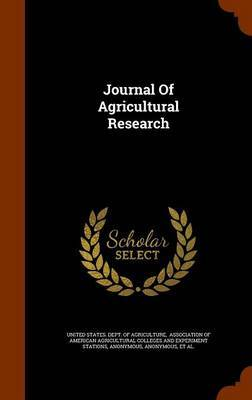 Journal of Agricultural Research image