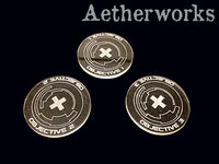 Aetherworks: Infinity Objective Tokens - Clear (3 Pack)