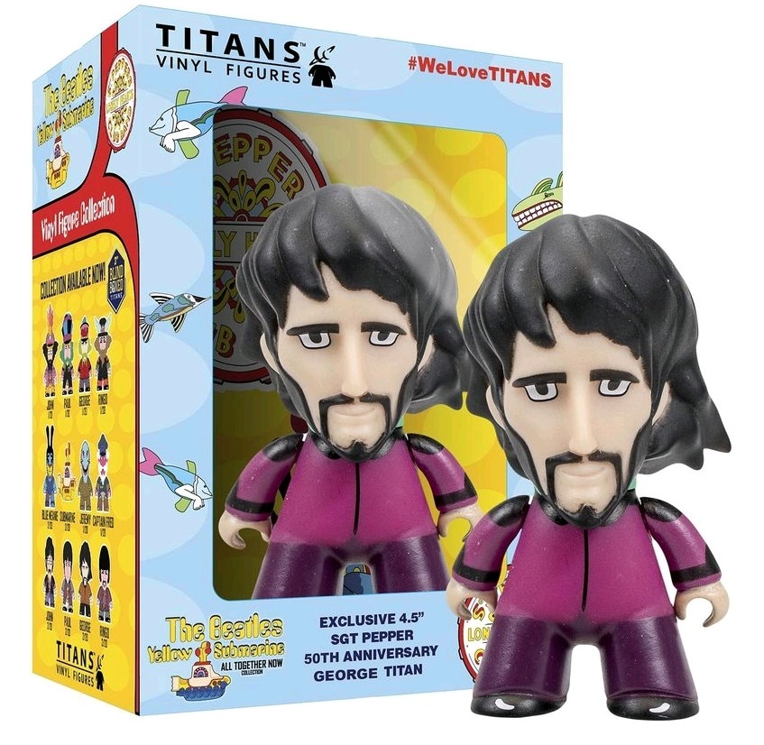 "The Beatles: George Harrison 4.5"" Titans Vinyl Figure image"