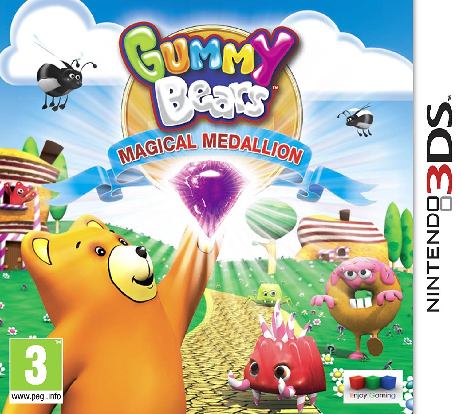 Gummy Bears Magic Medallion for Nintendo 3DS image