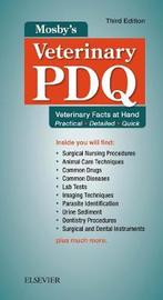 Mosby's Veterinary PDQ by Margi Sirois image