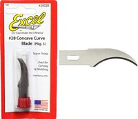 Excel #2 Concave Blades B28 (5 Pack)