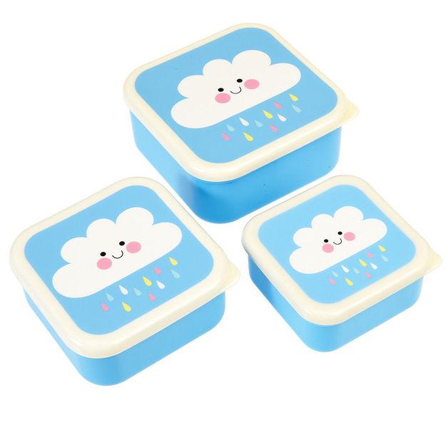 Snack Boxes - Happy Cloud Set