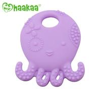 Haakaa: Octopus Silicone Teether - Purple