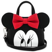 Loungefly: Disney Minnie Face Dome - Crossbody Purse