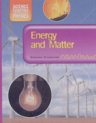Energy and Matter by Gerard Cheshire image