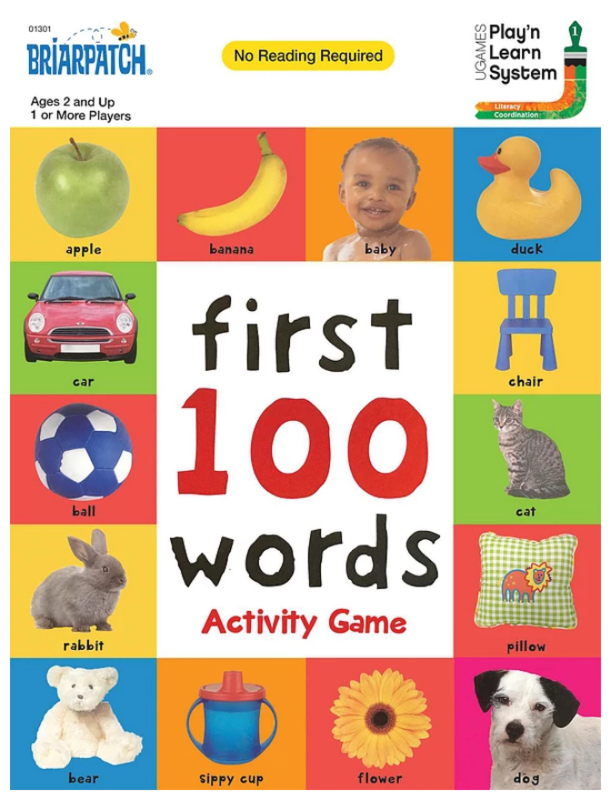 Briarpatch: First 100 Words - Activity Game
