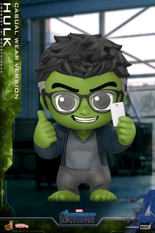 Avengers: Endgame - Hulk (Casual) Cosbaby Figure
