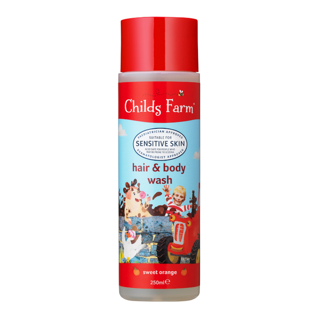 Childs Farm: Hair and Body Wash - Sweet Orange (250ml)