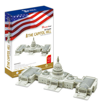 3D Puzzle - Capitol Hill