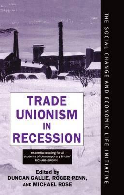 Trade Unionism in Recession image