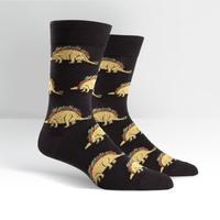 Mens - Tacosaurus Crew Socks