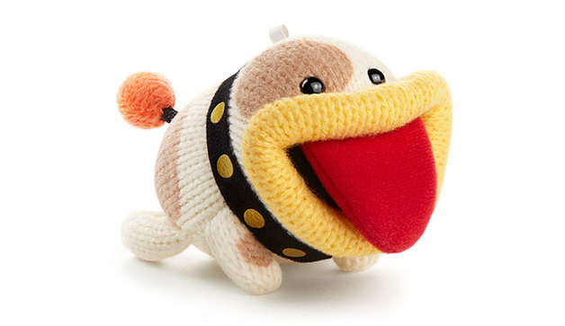 Nintendo Amiibo Poochy - Yarn Collection Figure for Nintendo Wii U