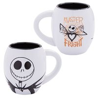 The Nightmare Before Christmas Oval Ceramic Mug (Jack, 18 oz)