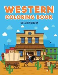 Western Coloring Book by Coloring Pages for Kids image