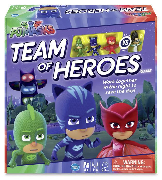 PJ Masks: Team of Heroes - Board Game