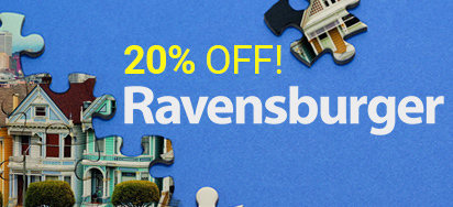 20% off Ravensburger!