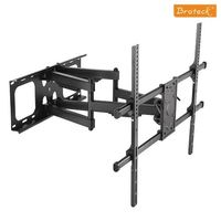 BRATECK: 50'-90' Full-motion wall mount. Max load: 75kg.VESA support up to: 800x600. Max arm extension - 635mm.