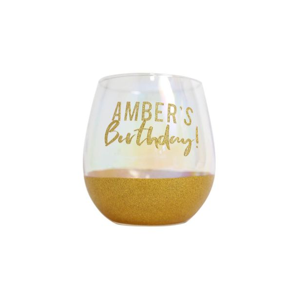 Splosh: Custom Celebration Glass - Gold