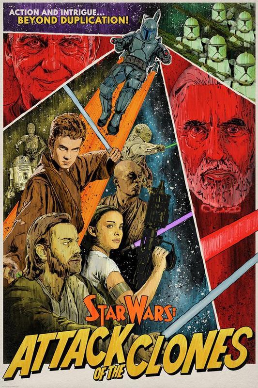 Star Wars: Beyond Duplication by J.J. Lendl - Lithograph Art Print